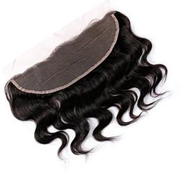 13*4 Full Lace Frontal Body Weave Natural Color(1B) Brazilian Human Hair 100% Unprocessed Virgin Hair 8A Malaysian Indian Peruvian Hair