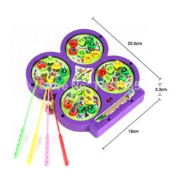 Wholesale High Quality Electric Rotating Magnetic Magnet Fish Fishing Kid Children Educational Toy Game toy android