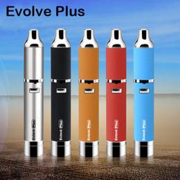 Wholesale Authentic Yocan Evolve Plus Kit mAh Battery E Cigarettes Quartz Dual Coil Wax Vaporizer Pen Kits Colors