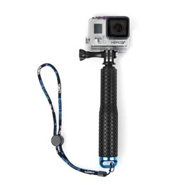 Wholesale Adjustable Aluminum Telescoping Monopod Handheld Extension Selfie Stick for Gopro Hero SJ4000 SJ5000 Xiaomi Action Cameras inch