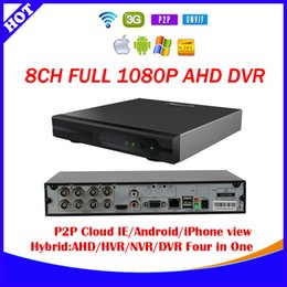 Wholesale 8ch AVR p cctv video surveillance camera security system AHD Hybrid AHD DVR NVR in Video Recorder For AHD Analog IP Camera E SEENET