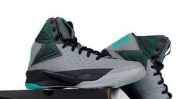 Wholesale 2016 Newest cool Stephen Curry Ash Green Basketball Shoes High Qulity look cool sport basketball sale cheap quick shippping athlete top