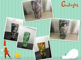 Wholesale IN stock DHL send camouflage color yeti cups oz yeti cups thermos mug ml capacity