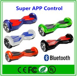 APP Bluetooth Hoverboard Scooter Smart Balance Wheel Self Balancing Electric Scooter with Bluetooth Retail Box Electric Haverboard Scooter