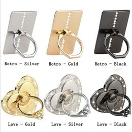 Wholesale Phone Ring Holder PC Cell Phone Ring Stand Holder for iPhone Android Mobile Phones iPad iPod Tablet