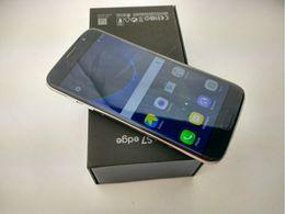 Wholesale HOT HDC Goophone S7 borde Desbloqueado teléfono celular Quad Core Android G RAM G ROM Mostrar Octa núcleo de GB ROM falso G LTE Smartphone pc DHL