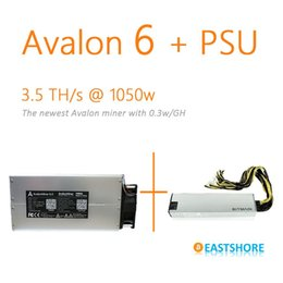 Wholesale SOLD OUT Asic Miner Avalon TH Bitcoin Miner GH Newest Btc Miner Better Than Antminer S5 With PSU Plug Play