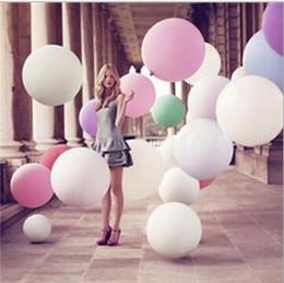 Coloridos 36 pulgadas de globos gigantes globos de globo de helio inflables grandes globos de látex grandes para la fiesta de cumpleaños decoración de bodas de eventos giant inflatable balloons deals desde globos inflables gigantes proveedores