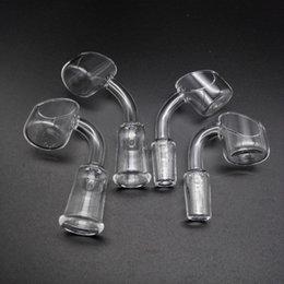 Wholesale Free DHL Shipping New mmOD XL Quartz Banger Nail Female Male mm mm mm Degrees Quartz Bangers Bucket Domeless Nails