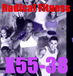 Wholesale Email Online Download Radical Fitness X55 Video DVD Exercise Fitness Videos X55 Email