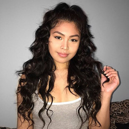 4X4 Silk Base Full Lace Wig 7A Brazilian Water Wave Glueless Silk Top Full Lace Wig With Natural Hairline for Black Women