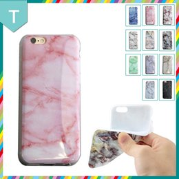 Wholesale Case iPhone plus texture marble granite soft TPU silicon super fashion for iPhone s se s plus splus