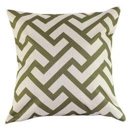 Wholesale Hot Sale Americas series geometric pattern Linen Pillow Cover Decorative cushion CM X45CM