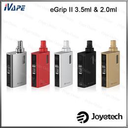 Wholesale Joyetech eGrip II VT Kit Original eGrip Kit W mah Battery Variable Modes Available With TFTA Tank ml ml Optional