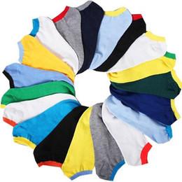 2017 garçons chaussettes d'été Été pied longueur 23-27cm 19color couleur contraste bon marché été garçons adolescents chaussettes candy couleur chaussette sport en gros coloré casual cotsock budget garçons chaussettes d'été