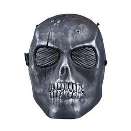 S5Q Paintball Airsoft esqueleto de la cara llena Proteger la máscara de CS campo de protección AAAGFP Máscara desde proteger a paintball proveedores