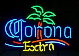 New Corona Extra Glass Neon Sign Light Beer Bar Pub Sign Arts Crafts Gifts Sign 19""