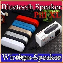 Wholesale Pill XL Bluetooth Speaker Lx Mini Pulse Speakers Built in Mic Handsfree Support TF Card USB Disk FM Radio Subwoof wireless speaker D YX