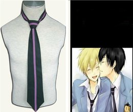 Wholesale Ouran High School Host Club uniform Cosplay MEN S tie Gift for friends cosplay costume