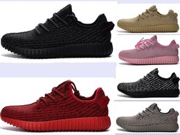 Wholesale 2016 BOOST Pirate black moonrock KANYE WEST Cheap Classic Running Shoes Wear oxford tan turtle dove For Man Woman Dropshipping