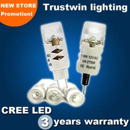 With CREE LED 1.5W G4 LED car light bulb LED halogen MR16 base AC DC 12V corn lamp bulb mini corn light