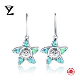 Hot Sale! 925 Sterling Silver Fire Opal Earrings Gold Plated for Women Long Cubic Zircon Dancing CZ Diamond Silver Dangle Earrings NE73830A