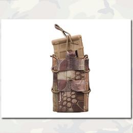 Wholesale Single Unit Magazine Pouch Army Combat Gear Utility MOLLE Vertical Pouches Accessories Camo HLD