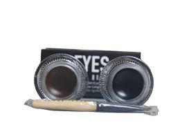 Best Seller BB Black Brown Two color Gel Eyeliner Proof Water Proof Eye Liner Eye Liner Eyeliner Gel Makeup Cosmetic Brush