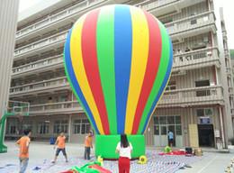 Arco iris inflable gigante del globo de la venta caliente para la demostración del acontecimiento del partido desde globos inflables gigantes fabricantes