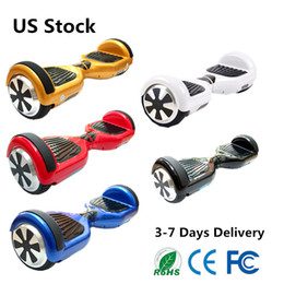 US Stock 6.5 Inch hoverboard Smart Balance Wheel Self Balancing Hover Board Balance 6.5 Inch Mini Fast Shipping With Good Battery
