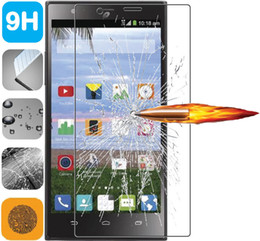 Toughened Glass Suppliers New Cheap Tempered Glass Screen Protectors for ZTE Avid 4 936L N9130 N9158 812  Axon Pro A1P 5200E Paper Packaging