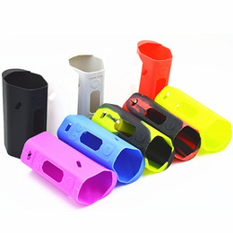 RX200S Silicone Case Silicon Cases Colorful Rubber Sleeve Protective Cover Skin Enclosure For Wismec Reuleaux 200SW 200WS TC Box Mod Vape