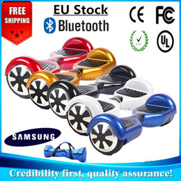 "EU Stock Samsung Hoverboard Bluetooth Carry Bag Smart Electric LED Scooter Self Balancing Wheel 6.5"" Two Wheels Balance Scooters Skateboard"