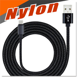 Wholesale Android Charging Cable Multi length ft ft ft colorful Sturdy Nylon Fabric Braided High Speed Data Sync USB to Micro USB Cables