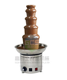 Good Quality With CE 5 Tiers Chocolate Fountain Machine For Commercial Use