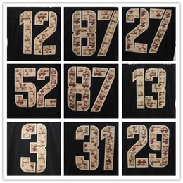 Wholesale Cheap New American Football jersey Black Salute to Service Jersey Mixed order