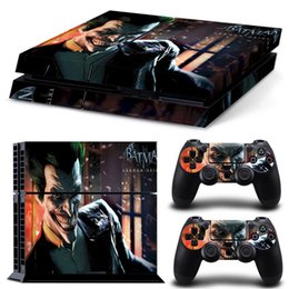 Funny Batman Vinyl Decal Protector Skin Sticker for Sony PlayStation 4 PS4 Console and 2 Controllers Skin Stickers