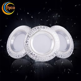 Led flood lights spot lamp ceramic downlight recessed corridor lamps 3w ceiling lights led lights spot ceramic downligh
