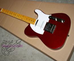 Descuento cuerdas custom shop Tienda de encargo de la guitarra eléctrica roja 6 cuerdas de la guitarra eléctrica de la venta en el precio bajo libera el envío