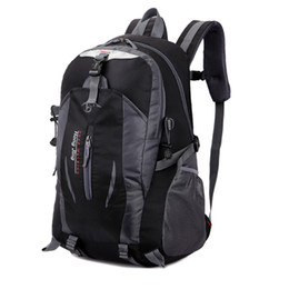 Wholesale Best price Outdoor climbing traveling package bag for male and female han edition sports bag leisure travel backpack shoulders bag