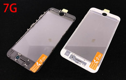 AAA+ 3 in 1 Cold Press for Apple iPhone 7 Front Screen Glass with Frame OCA Film Replacement Parts for iPhone 7 Plus
