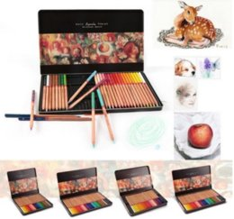 Wholesale Marco Renoir Colors Maximum Pencil Oil Base Professional Artist Drawing Sketching for Adult Coloring Book