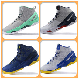 Wholesale Hot Sale Basketball Shoes Curry Sneakers best quality curry II Away home birthday all star stephen curry shoes For Men US