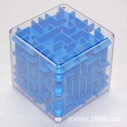 Hot Sales Classical 8*8*8cm 3D Maze Alpinia Oxyphylla Interesting 720 Degree Rotation Rubik's Cube Toys For Children ZD018