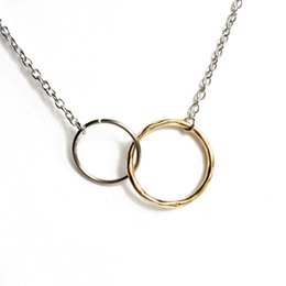 Free Shipping New Simple Pendant Necklace, Circle Pendant Fashion Necklace, Sweet New Design Wholesale Trendy Necklace