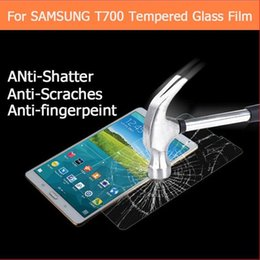 Wholesale Best Premium tempered glass film For Samsung Galaxy Tab S T700 T705 quot tablet pc Anti shatter LCD Screen Protector Film