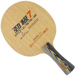 Wholesale Hongshuangxi DHS Table Tennis Rackets Baseboard Layer Pure Wood Balloon Full Suit For Entry Level Enthusiasts Power G7