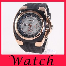 Wholesale Luxurious V6 Series Business Watch Watchband Silicone Quartz Fashion Watch For Man Motor Type Hot Sell