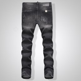 Wholesale-2016 New arrival High quality men jeans homme denim men jeans Fit leisure jeans tide