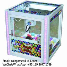 Wholesale Amusement Equipment Coin Operated Arcade Games Mini Square Cranes Claw Machine For Sale